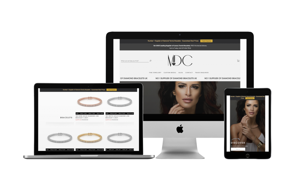 Brand Creation & Web Design For Luxury Brands